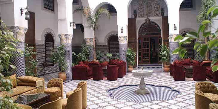 Riads in Morocco