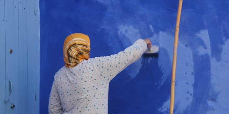Blue city of Morocco