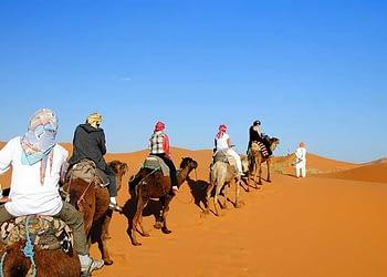 Ouarzazate to Erg Lihoudi Desert Tour 2 days