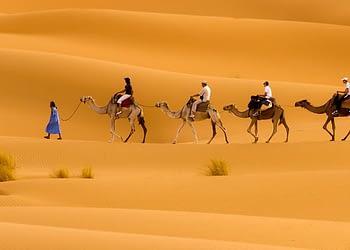 Agadir Desert Tours to Marrakech via Merzouga 4 Days